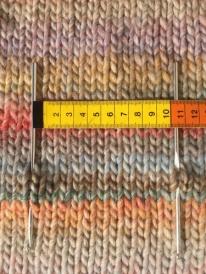 10 cm breed is 11 steken