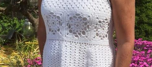KleinGehaakte jurk 3