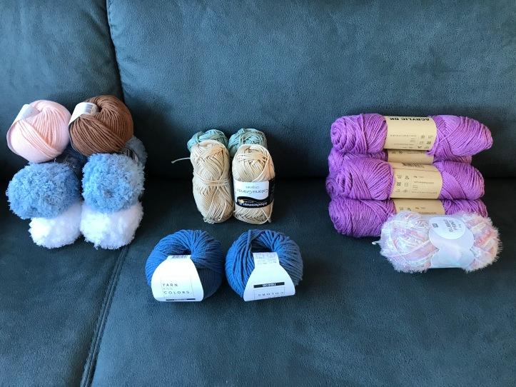 nieuwe wol voorraad